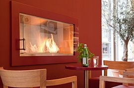 Echo Fireplace Screen - In-Situ Image by EcoSmart Fire