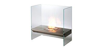 Igloo Designer Fireplace - Studio Image by EcoSmart Fire