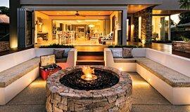 Oswald Down South Home Landscape Fireplaces Ethanol Burner Idea