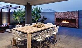 The Brindabella Landscape Fireplaces Ethanol Burner Idea