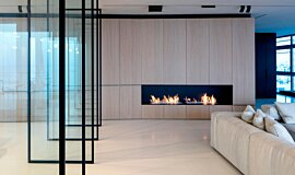 N Apartment Tel Aviv Builder Fireplaces Ethanol Burner Idea