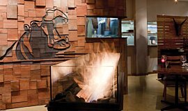 Hippo Creek African Grill Commercial Fireplaces Ethanol Burner Idea