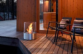 Glow Outdoor Fireplace - In-Situ Image by EcoSmart Fire