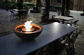 Mix 600 Outdoor Fireplace - In-Situ Image by EcoSmart Fire