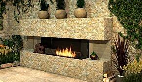 Flex 32BY Flex Fireplace - In-Situ Image by EcoSmart Fire