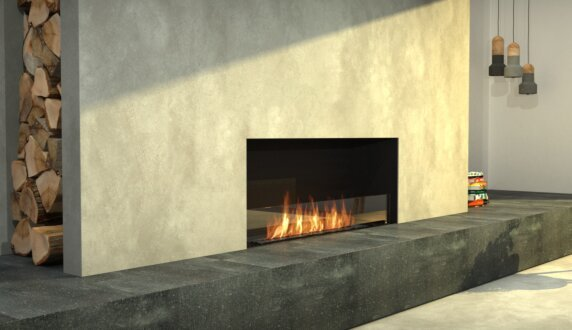 Living Area - Flex 68SS.BXL Flex Fireplace by EcoSmart Fire