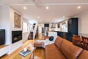 3 Marks - Firebox 720CV Curved Fireplace by EcoSmart Fire