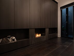 Private Residence - Flex 32SS Indoor Fireplace by EcoSmart Fire