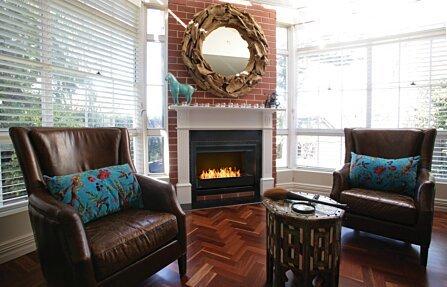 New Flame Same Fireplace