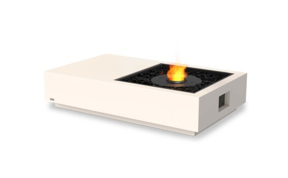 Manhattan 50 Fire Table - Ethanol - Black / Bone by EcoSmart Fire