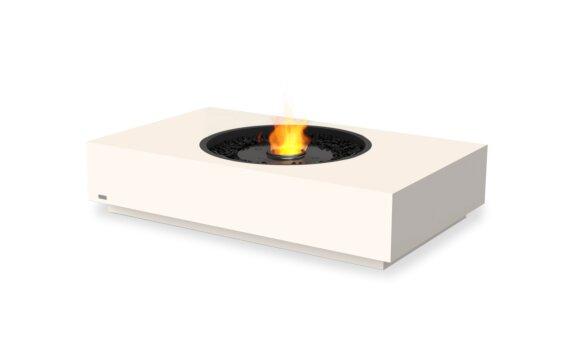 Martini 50 Fire Table - Ethanol - Black / Bone by EcoSmart Fire