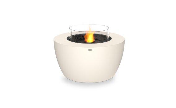 Pod 40 Fire Pit - Ethanol - Black / Bone / Optional Fire Screen by EcoSmart Fire