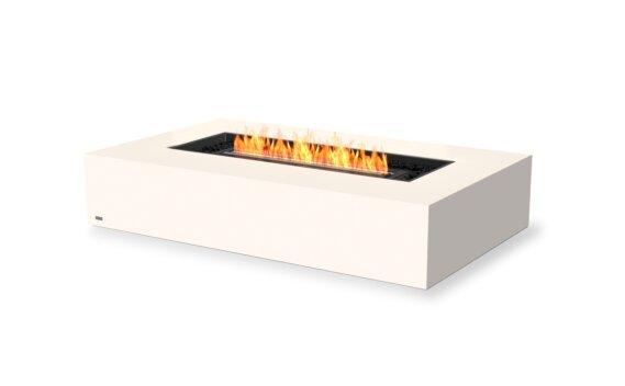 Wharf 65 Fire Table - Ethanol - Black / Bone by EcoSmart Fire