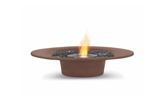 Ayre Fire Pit - Ethanol / Rust by EcoSmart Fire