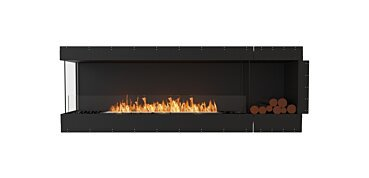 Left Corner Fireplace - by EcoSmart Fire