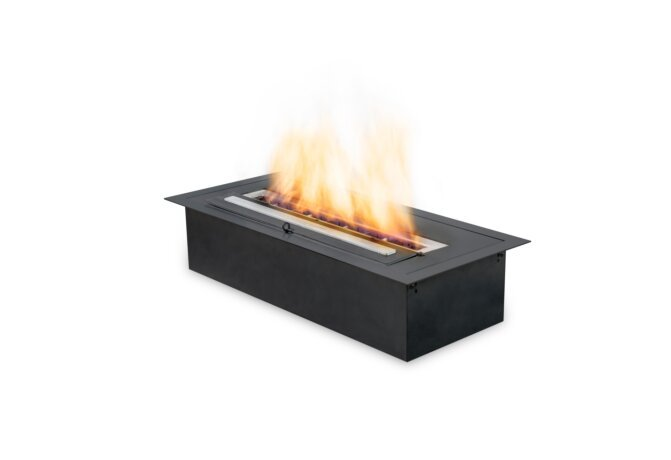 XL500 Ethanol Burner - Ethanol / Black / Top Tray Included by EcoSmart Fire