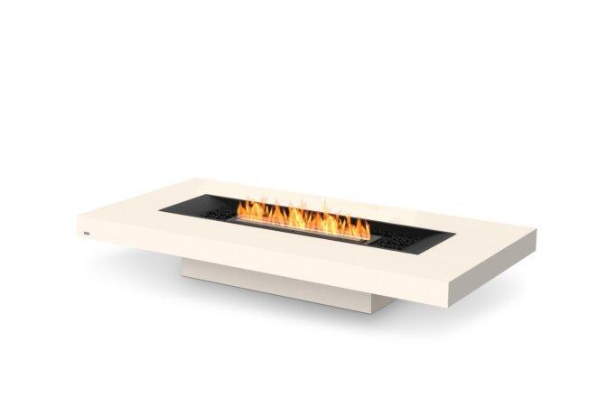 Gin 90 (Low) Fire Table - Ethanol - Black / Bone by EcoSmart Fire