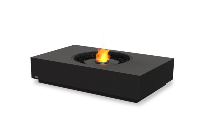 Martini 50 Fire Table - Ethanol - Black / Graphite by EcoSmart Fire