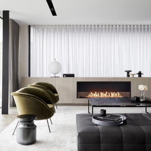 Choose a ventless fireplace